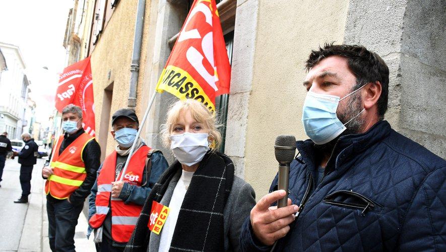 Narbonne : les grévistes d'Orano en appellent à la préfecture