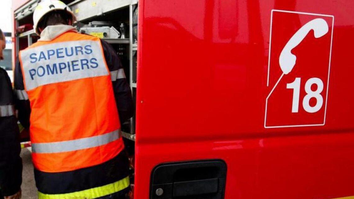 Incendie dans un entrepôt à Prunay: le risque chimique écarté par les pompiers